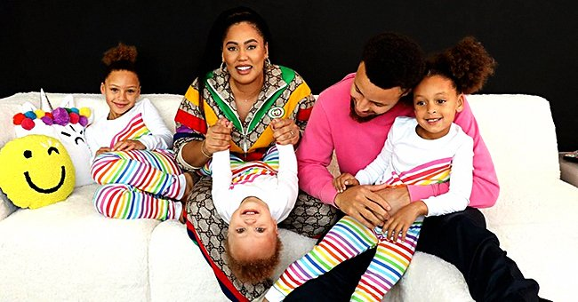 Steph Curry's Wife Ayesha Posts Photos of Their Daughters with Cute Hairstyles and They Look like Her