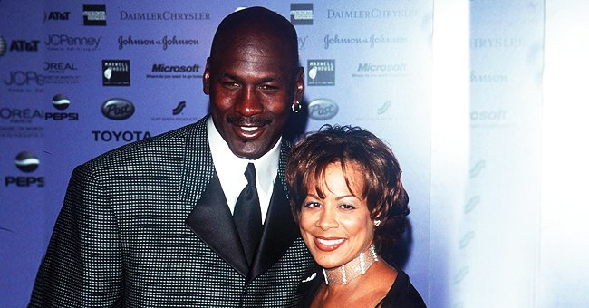 Michael Jordan & Juanita Vanoy's Daughter Jasmine Shares Photo of Curly-Haired Son