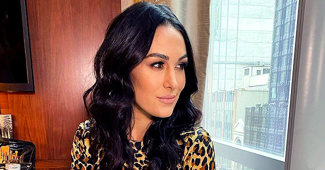 Brie Bella Celebrates Start of NFL Season with a Pic of Her 6-Week-Old Son in a Football Outfit