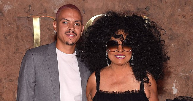Diana Ross' Grandson Ziggy Frowns While Sitting in His Father's Arms in a New Photo