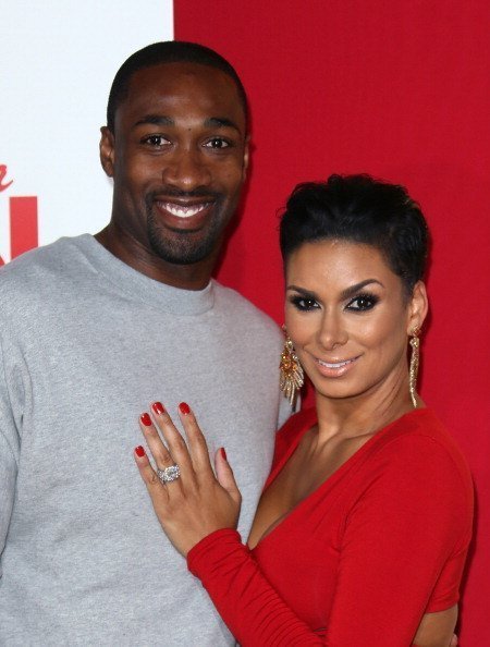 Laura Govan and Gilbert Arenas at the TCL Chinese Theatre on June 9, 2014 in Hollywood, California | Source: Getty Images