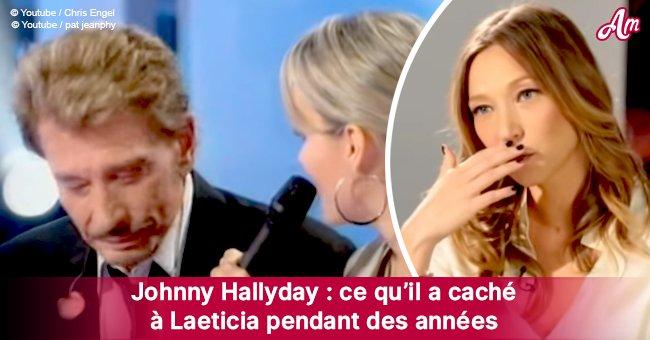 Laeticia, la vraie histoire: Johnny Hallyday a menti à Laeticia pour offrir un énorme cadeau à Laura