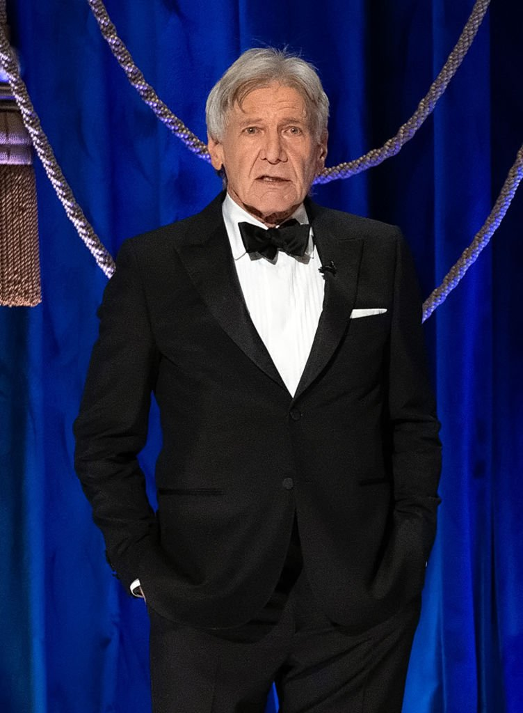 Harrison Ford speaks onstage during the 93rd Annual Academy Awards at Union Station on April 25, 2021 in Los Angeles, California   Photo: Getty Images