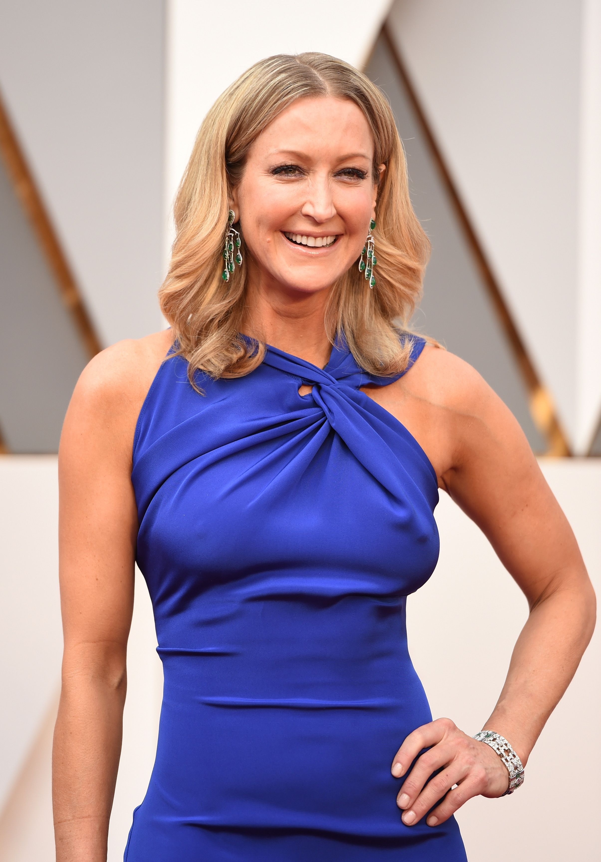 Lara Spencer at the 88th Annual Academy Awards at Hollywood & Highland Center on February 28, 2016 | Photo: Getty Images