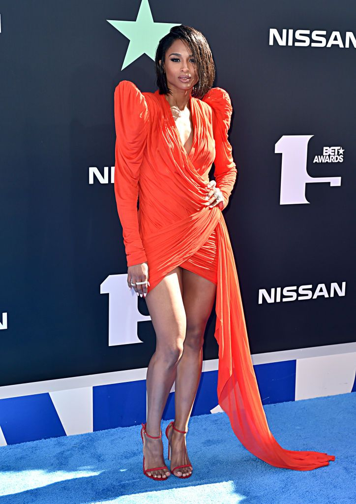 Ciara attends the 2019 BET Awards at Microsoft Theater on June 23, 2019 in Los Angeles, California. | Source: Getty Images