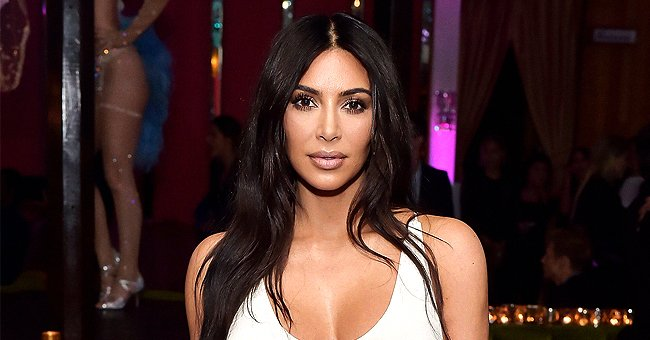 Kim Kardashian from KUWTK Flaunts Her Figure in Nude Underclothes as She Announces New SKIMS Line