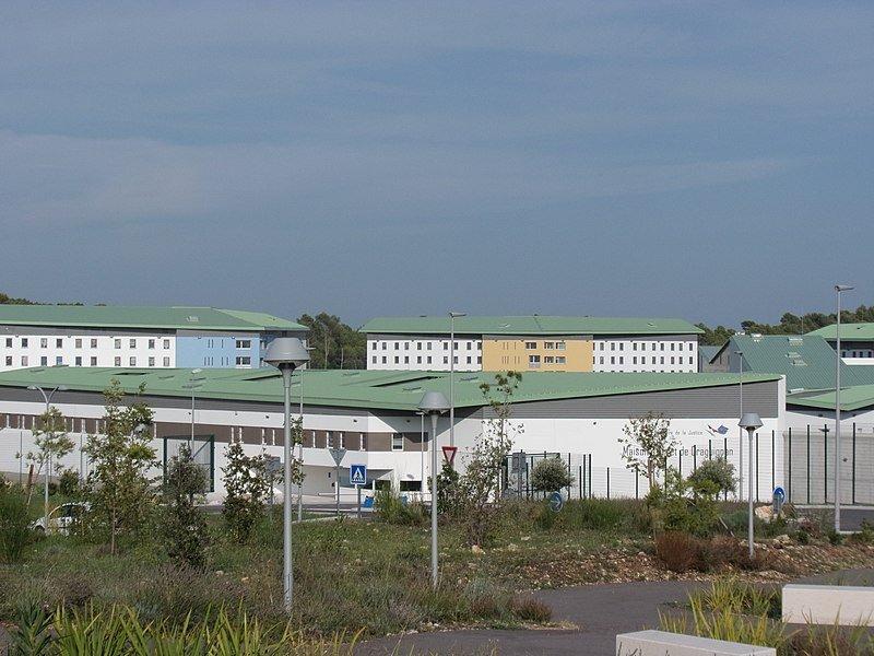 Centre pénitentiaire de Draguignan. Photo prise le 24 août 2018. | Wikimedia Commons