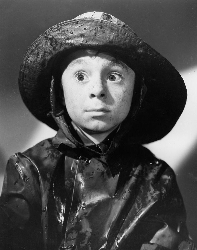 """Portrait of Carl Switzer as Alfalfa for """"The Little Rascals"""" series, originally know as """"Our Gang"""" dated December 5, 1936 