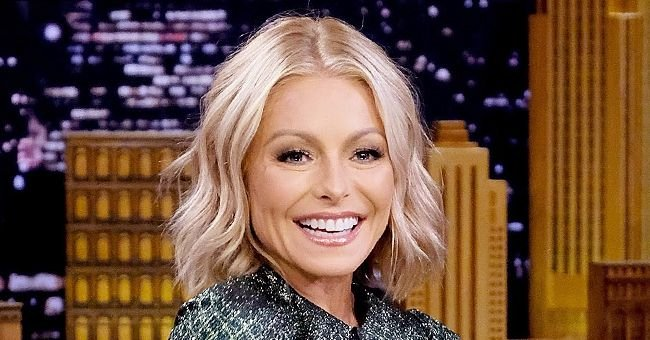 Kelly Ripa Wears Hair Clips to Manage Her Gray Roots Amid COVID-19 Lockdown