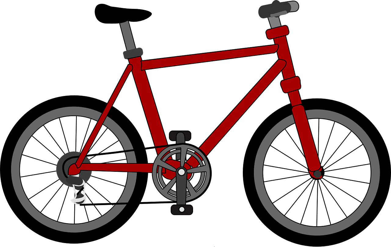 Little Johnny really wanted a red bike for his birthday!   Photo: Pixabay/Clker-Free-Vector-Images