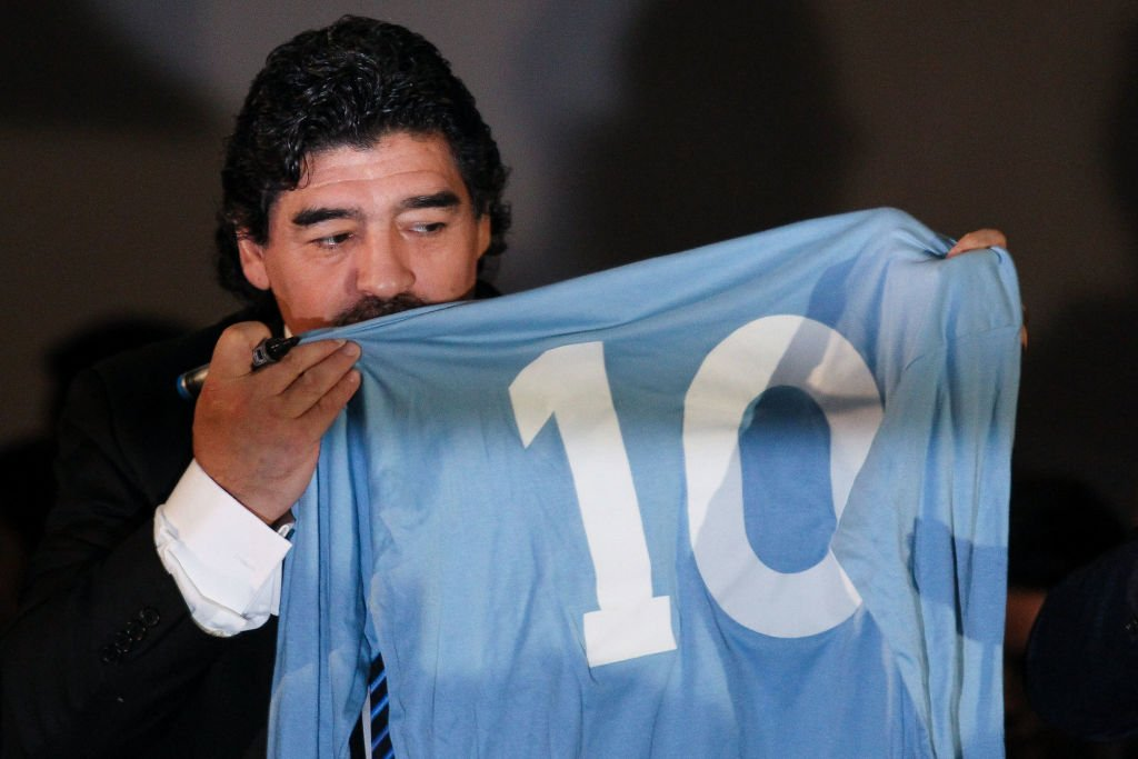 Fußball-Legende Diego Armando Maradona | Quelle: Getty Images