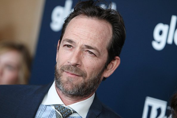 Actor Luke Perry attends the 28th Annual GLAAD Media Awards   Photo: Getty Images