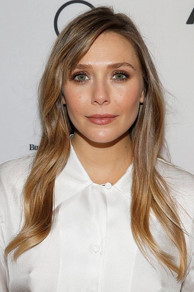 "Elizabeth Olsen at the BuzzFeed's ""AM To DM"" on October 10, 2019 in New York City.