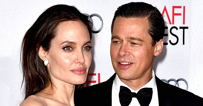 Actress/director Angelina Jolie Pitt and Brad Pitt arrive at the AFI FEST, November 2015   Source: Getty Images