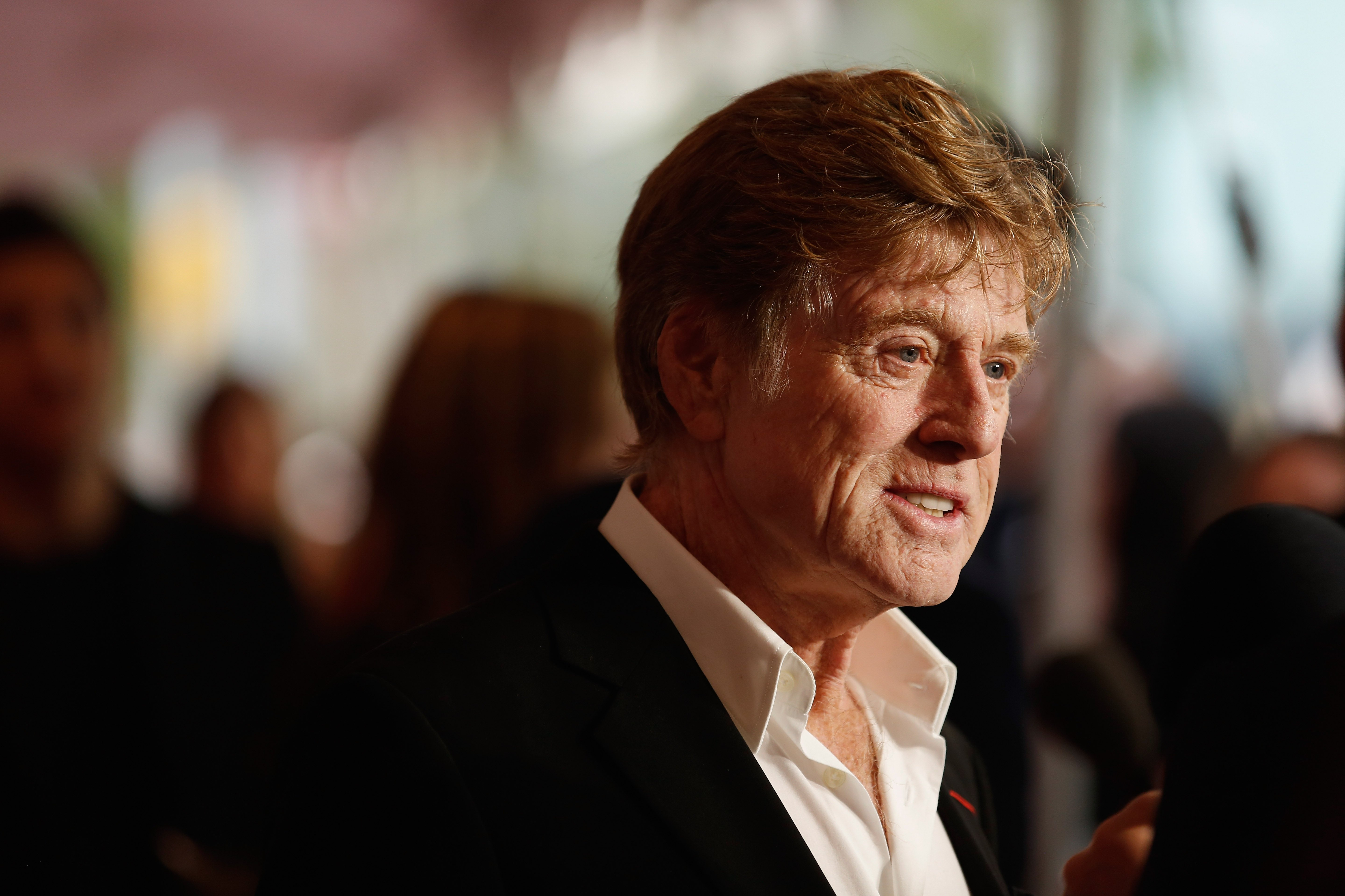 """Robert Redford at the """"All Is Lost"""" premiere during the 51st New York Film Festiva on October 8, 2013 