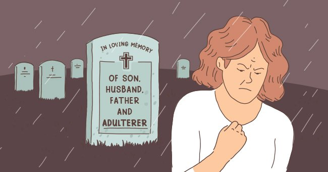 Widow Carved 'Adulterer' into Cheating Husband's Gravestone – His New Family Is Outraged