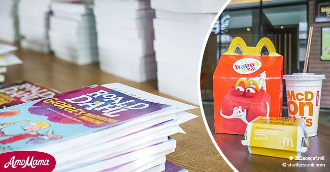 McDonald's replaces Happy Meal toys with books to encourage children to read