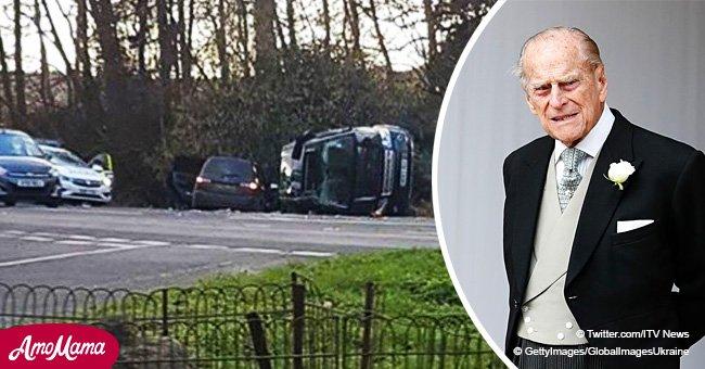 Le duc d'Édimbourg, âgé de 97 ans, a eu un accident de voiture près de son domaine de Sandringham