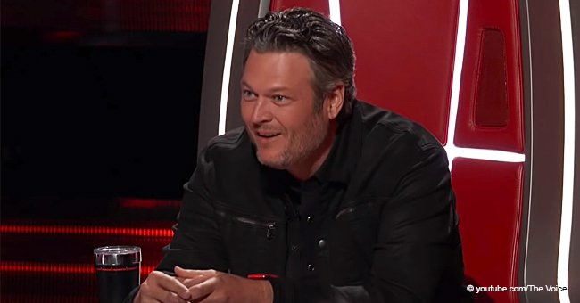 'Rap Legend' Blake Shelton Offers Girl a Chance to 'Freak Everybody out' after a 'Dope' Audition