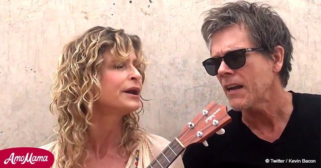 Kevin Bacon and Kyra Sedgwick sing a charming song in honor of their 30th anniversary