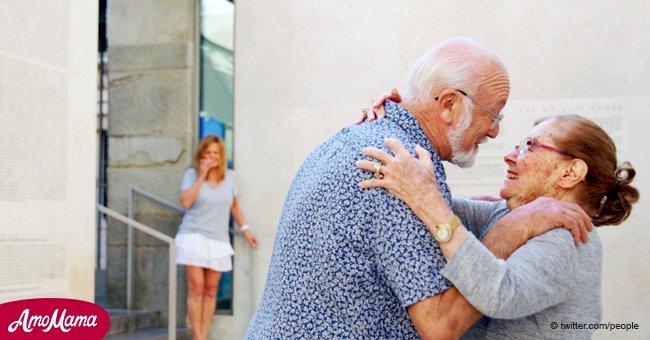 Une survivante de l'Holocauste rencontre la famille qui l'a cachée aux nazis Il y a 73 ans
