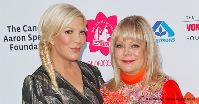 Tori Spelling's Mom Wants Her to Quit Having Children, According to Hollywood Life