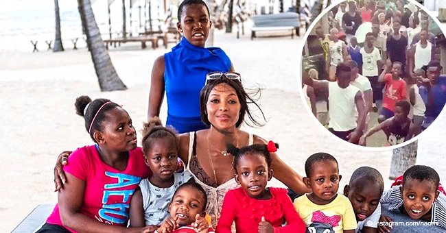 Try not to dance: Naomi Campbell shares inspiring video of Colombian children dancing