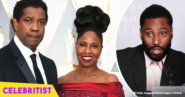 Denzel Washington's son reveals it was more difficult being Pauletta's son than Denzel's
