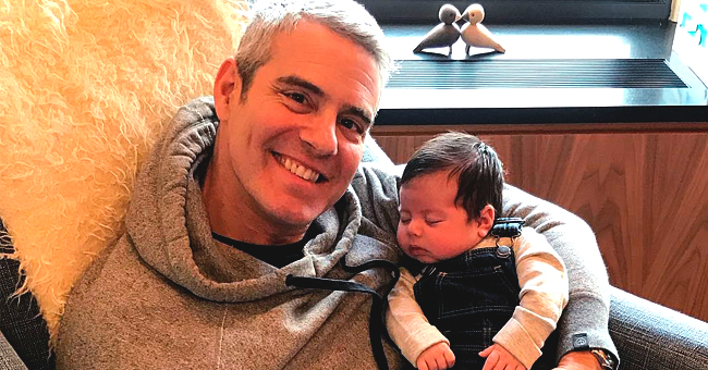 Bravo's WWHL Host Andy Cohen's Son Benjamin Kicks His Face as He Sings Grateful Dead's 'Sugaree'