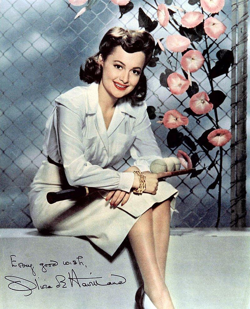 Olivia de Havilland, Publicity Foto, 1940er | Quelle: Wikimedia Commons