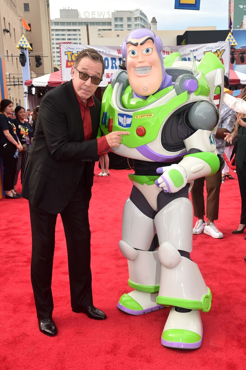 """Tim Allen attends the world premiere of Disney and Pixar's """"Toy Story 4."""" 