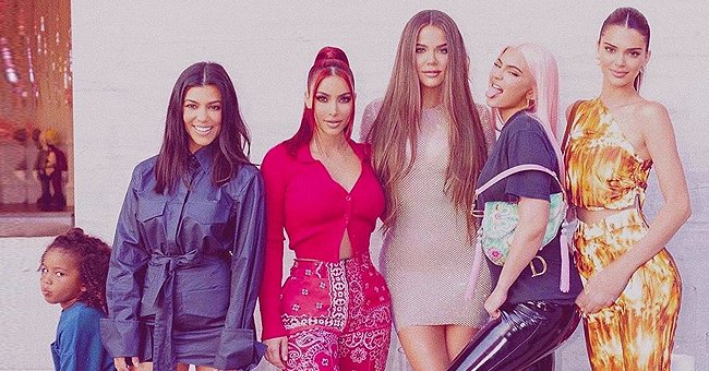Kim Kardashian and Her Sisters Channel the Spice Girls in a New Picture