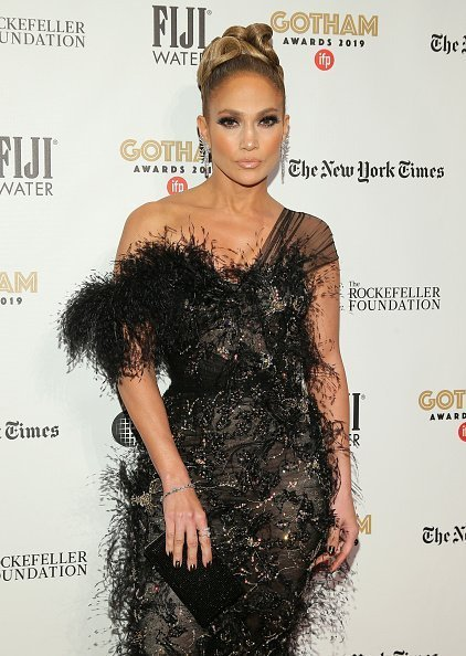 Jennifer Lopez at Cipriani Wall Street on December 02, 2019 in New York City.   Photo: Getty Images