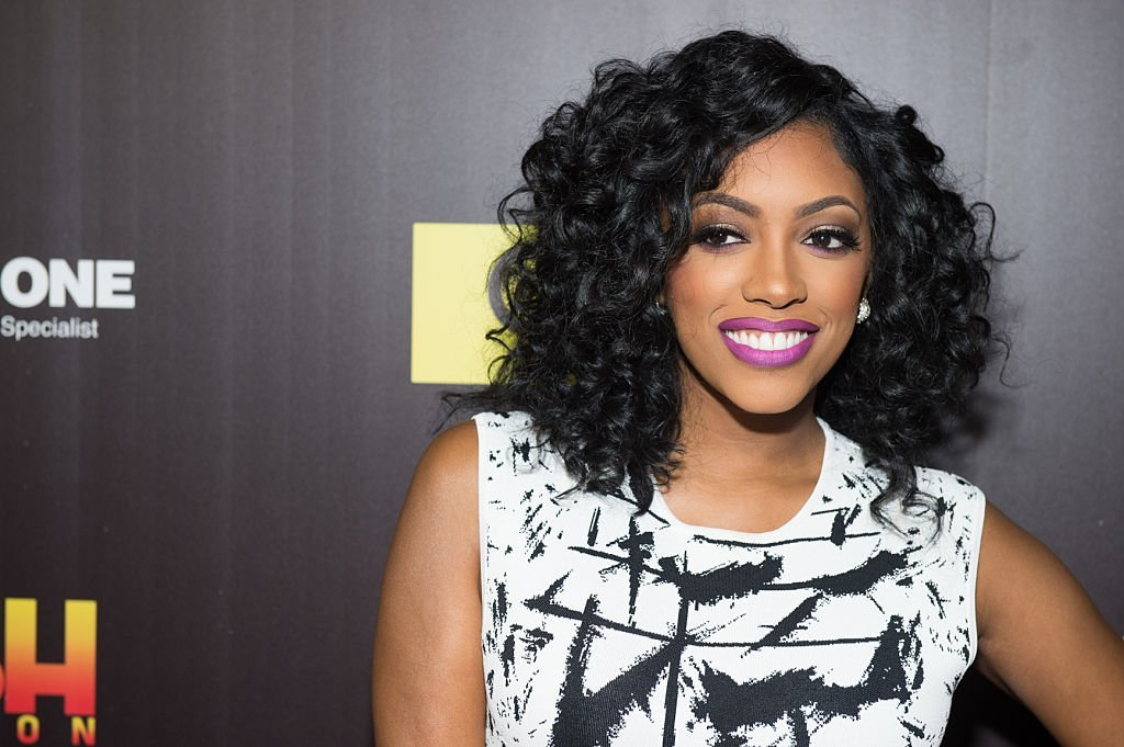 "TV personality Porsha Williams attends TV One's ""Rickey Smiley For Real"" season 2 premiere at SCADshow 