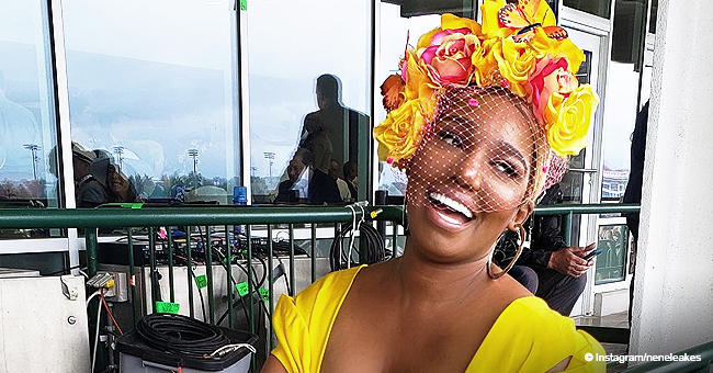 NeNe Leakes Stuns in Low-Cut Yellow Dress Amid Marriage Issues (Photos)