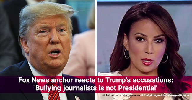 Fox News anchor reacts to Trump's accusations: 'Bullying journalists is not Presidential'