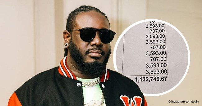 T-pain helps ill brother by paying his $1.4 million hospital bill