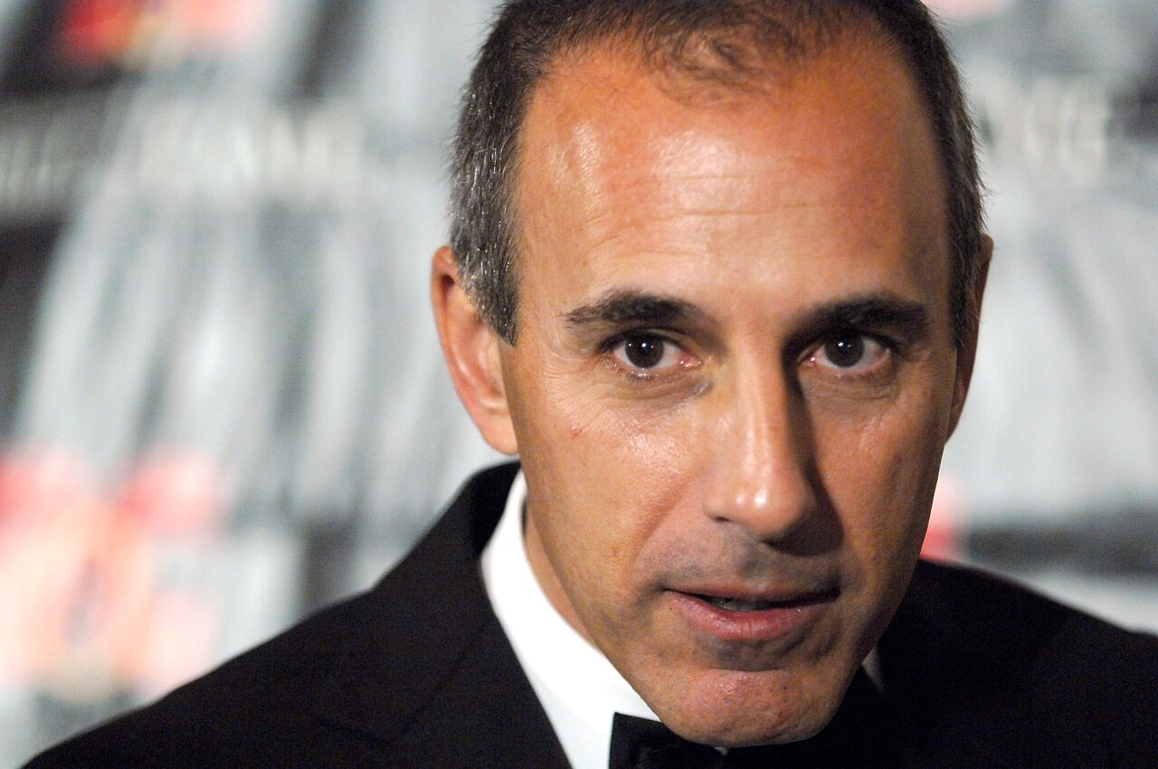 Matt Lauer at the 18th Annual Broadcasting & Cable Hall of Fame Awards.   Source: Getty Images