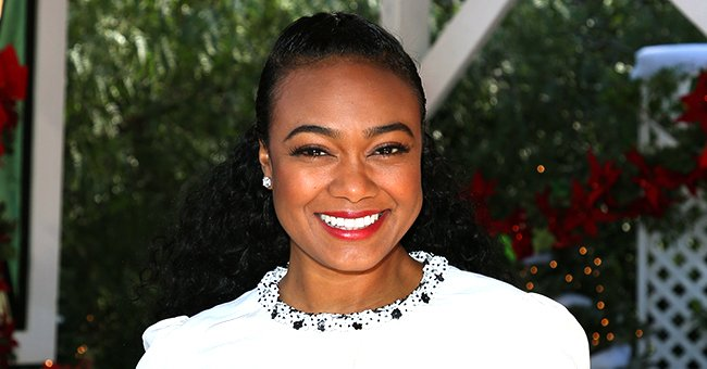 'Fresh Prince of Bel-Air' Star Tatyana Ali Looks Cute 'Handling Business' in a Throwback Pic