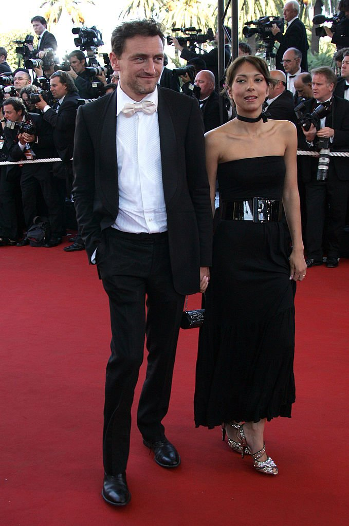 """Jean-Paul Rouve and girlfriend Benedicte during 2006 Cannes Film Festival - """"Volver"""" Premiere at Palais Du Festival in Cannes, France. 