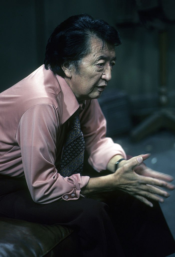 """Jack Soo in his acting element in the 1978 film """"Loan Shark."""" 