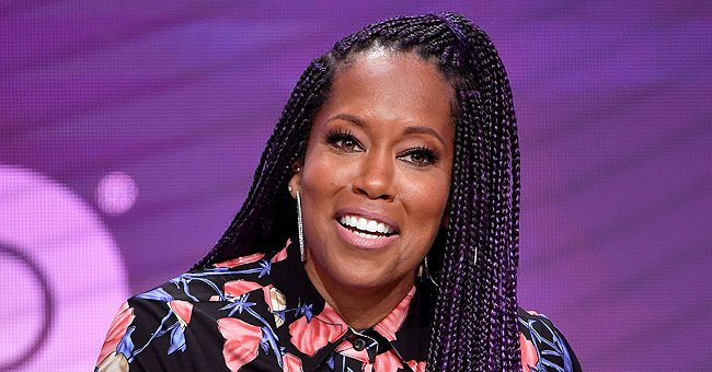 '227' Star Regina King Pours Her Slim Figure into Colourful Outfits for InStyle Photo Shoot