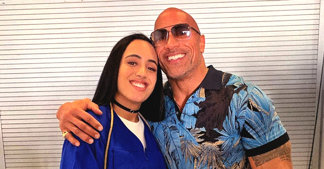 Dwayne Johnson Proudly Shares Pictures of His Daughter Simone Graduating High School