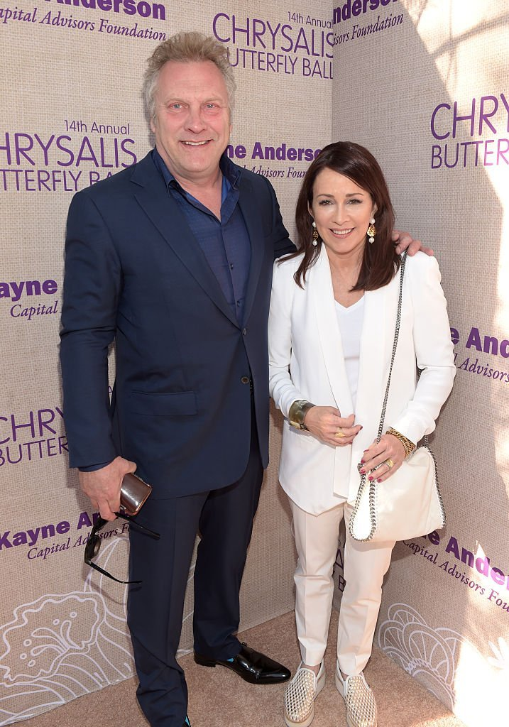 David Hunt (L) and Patricia Heaton attend the 14th annual Chrysalis Butterfly Ball | Getty Images