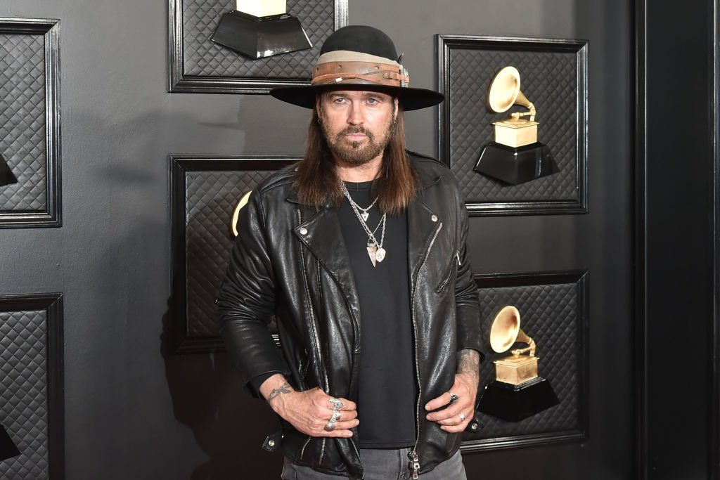 Billy Ray Cyrus attends the 62nd Annual Grammy Awards at Staples Center on January 26, 2020   Photo: Getty Images