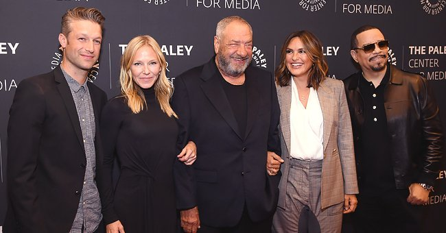 Peter Scanavino; Kelli Giddish; Dick Wolf, Creator and Executive Producer; Mariska Hargitay; Ice T at the Paley Center for Media, September 25, 2019 | Photo: Getty Images