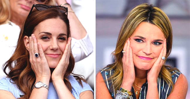 Savannah Guthrie of 'Today' Mimicks Kate Middleton's Facial Expression in a New Photo