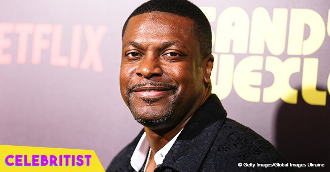 Chris Tucker looks radiantly happy in photo with girlfriend and her grown-up daughter