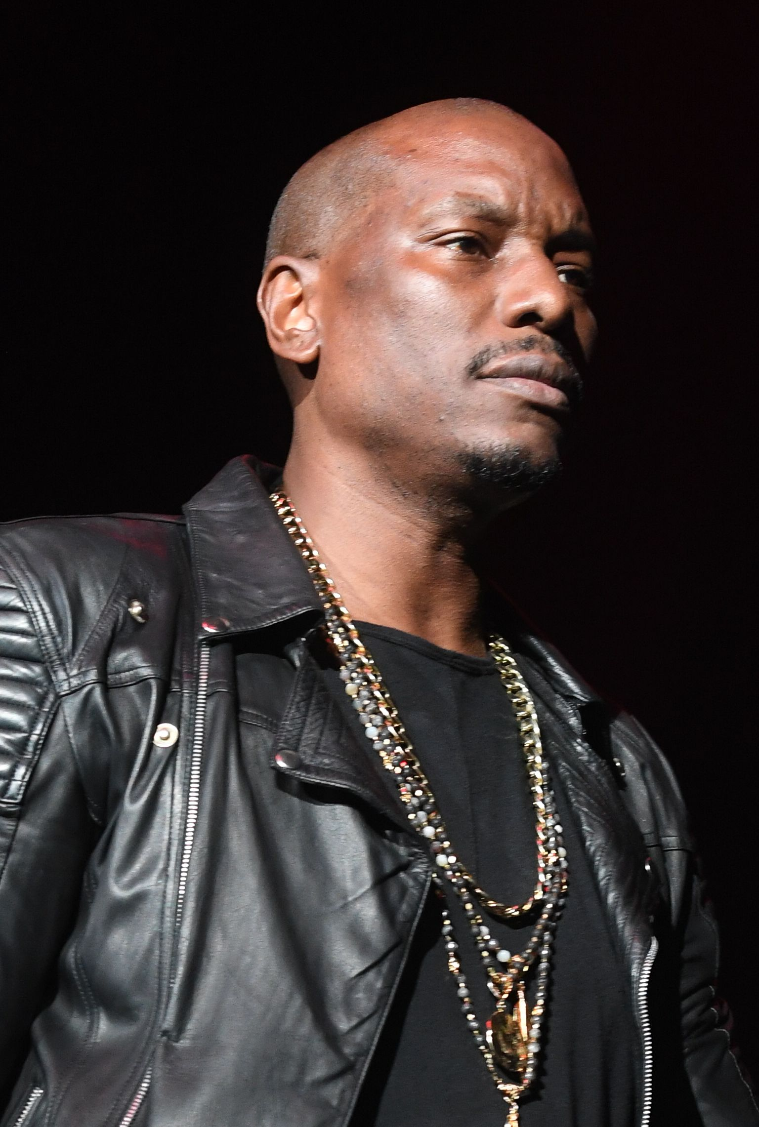 Tyrese Gibson onstage in concert on October 28, 2017 in Atlanta. │Photo: Getty Images