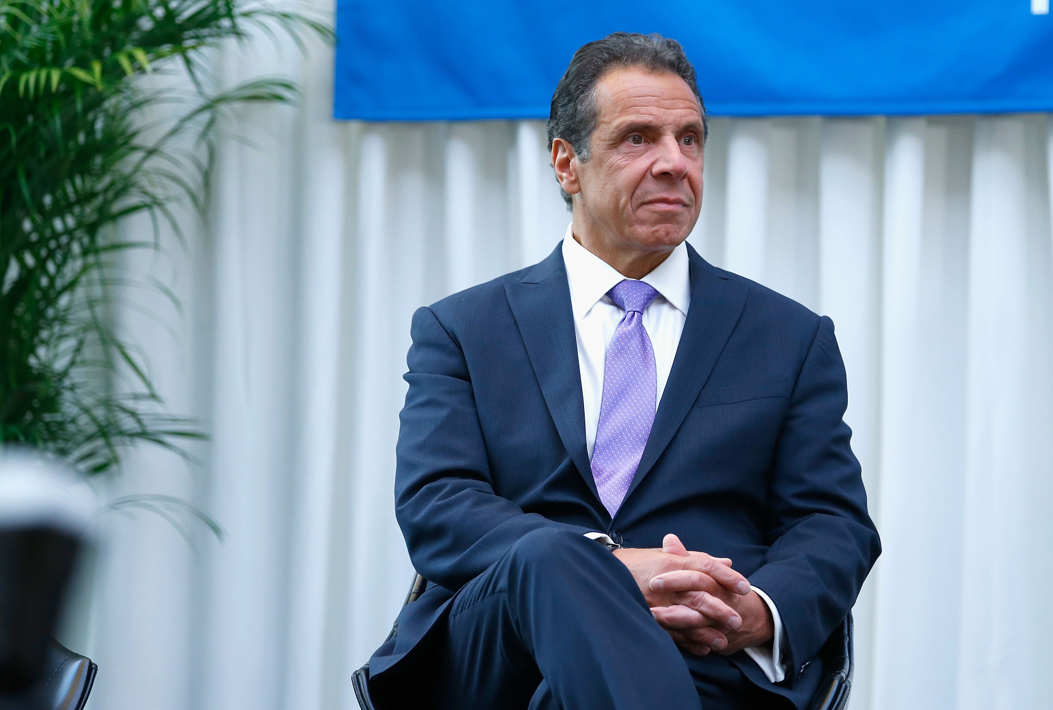 New York State Governor, Andrew Cuomo at the Madison Square Garden celebration of Billy Joel's 100th lifetime show at Madison Square Garden on July 18, 2018   Photo: Getty Images